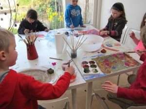 A fun painting class